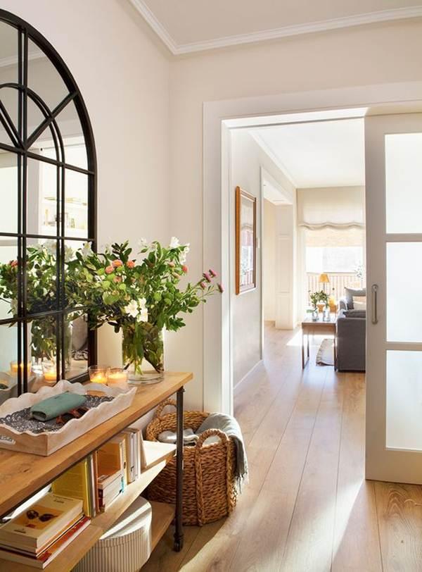 Como decorar la entrada de mi casa como decorar la - Decorar una entrada estrecha ...